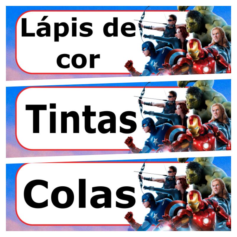 etiqueta escolar para imprimir