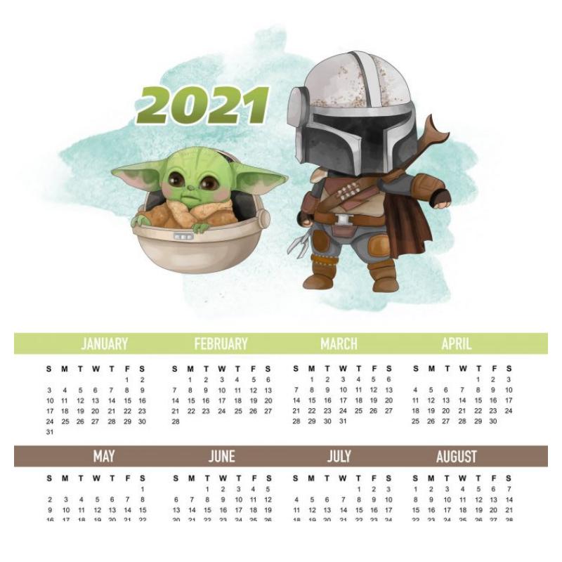 calendario anual baby yoda2
