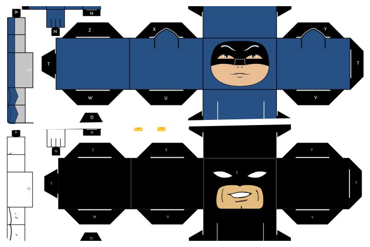 papercraft batman