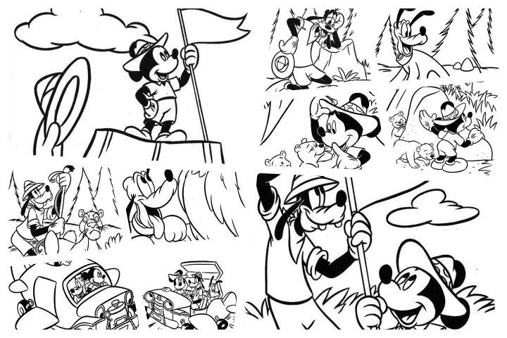 desenhos mickey para colorir