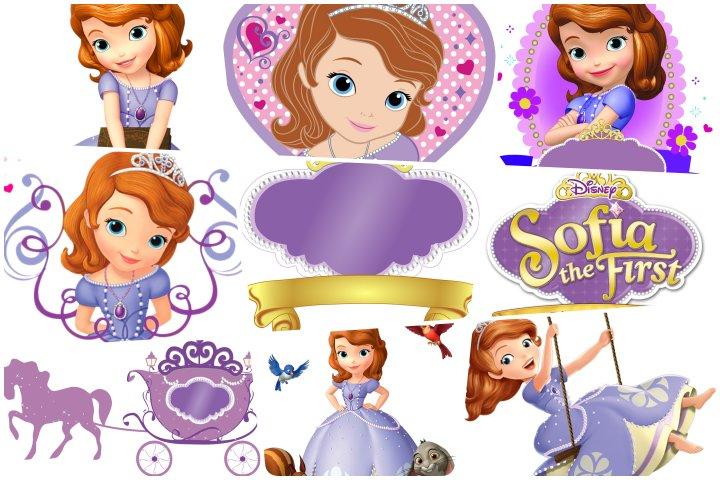 topos de bolo princesinha sofia