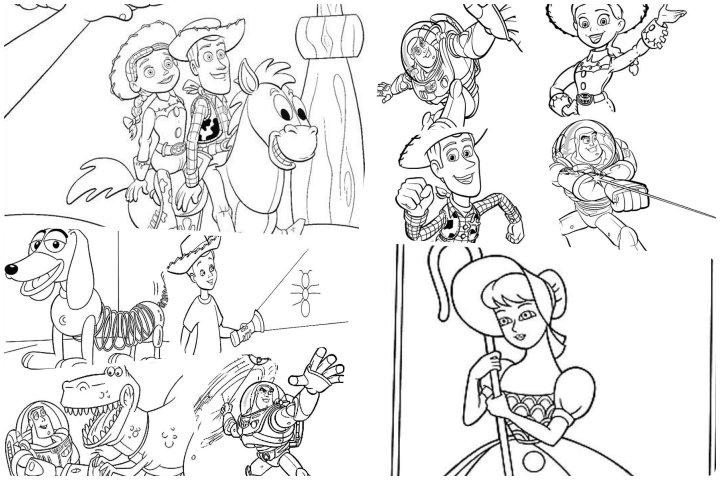 desenhos toy story para colorir