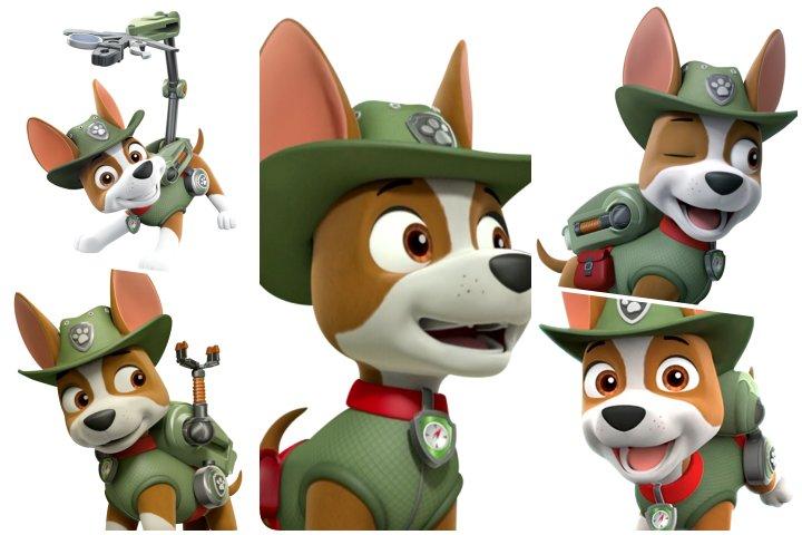 topos de bolo tracker patrulha canina para imprimir
