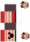 Sacolinha Minnie vermelha
