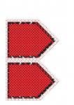 bandeirola minnie vermelha