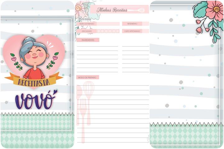 caderno de receitas dia dos avos