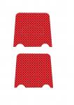 display de mesa base minnie vermelha