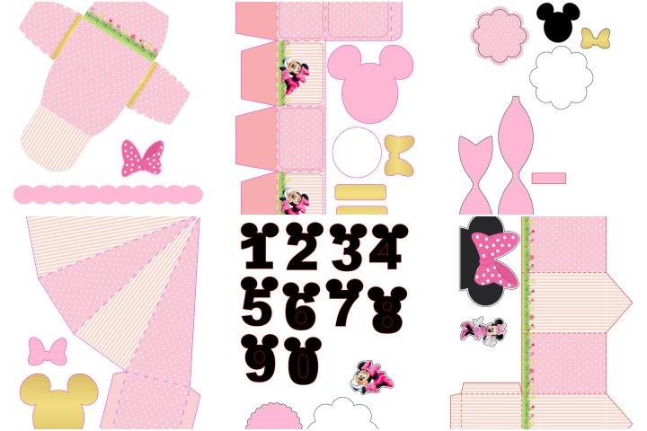 kit festa minnie rosa para imprimir 1