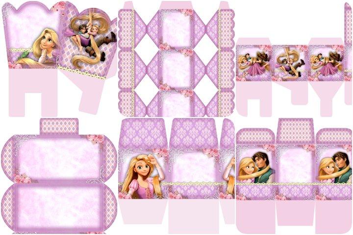 kit festa rapunzel para imprimir