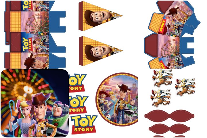 kit festa toy story 4 para imprimir