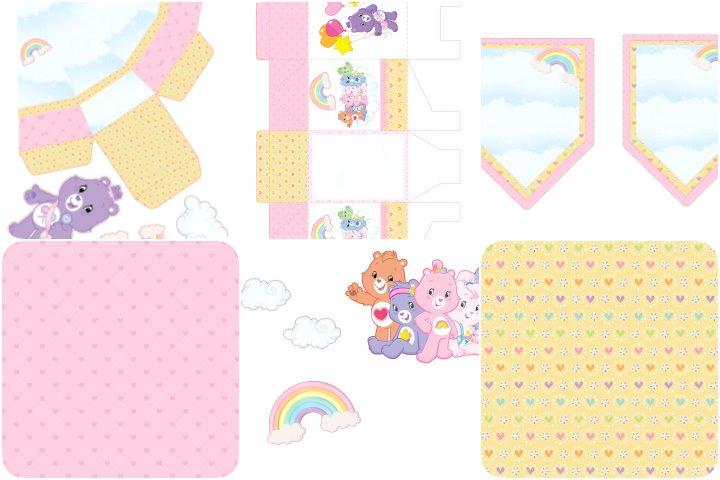 kit festa ursinhos carinhosos para imprimir