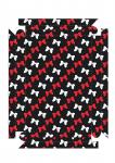 moldura quadro minnie vermelha 1