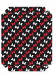 moldura quadro minnie vermelha 2