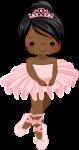 topo de bolo bailarina rosa 3