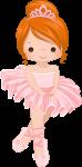 topo de bolo bailarina rosa 5