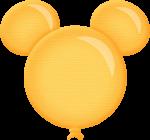 topo de bolo mickey dourado 4