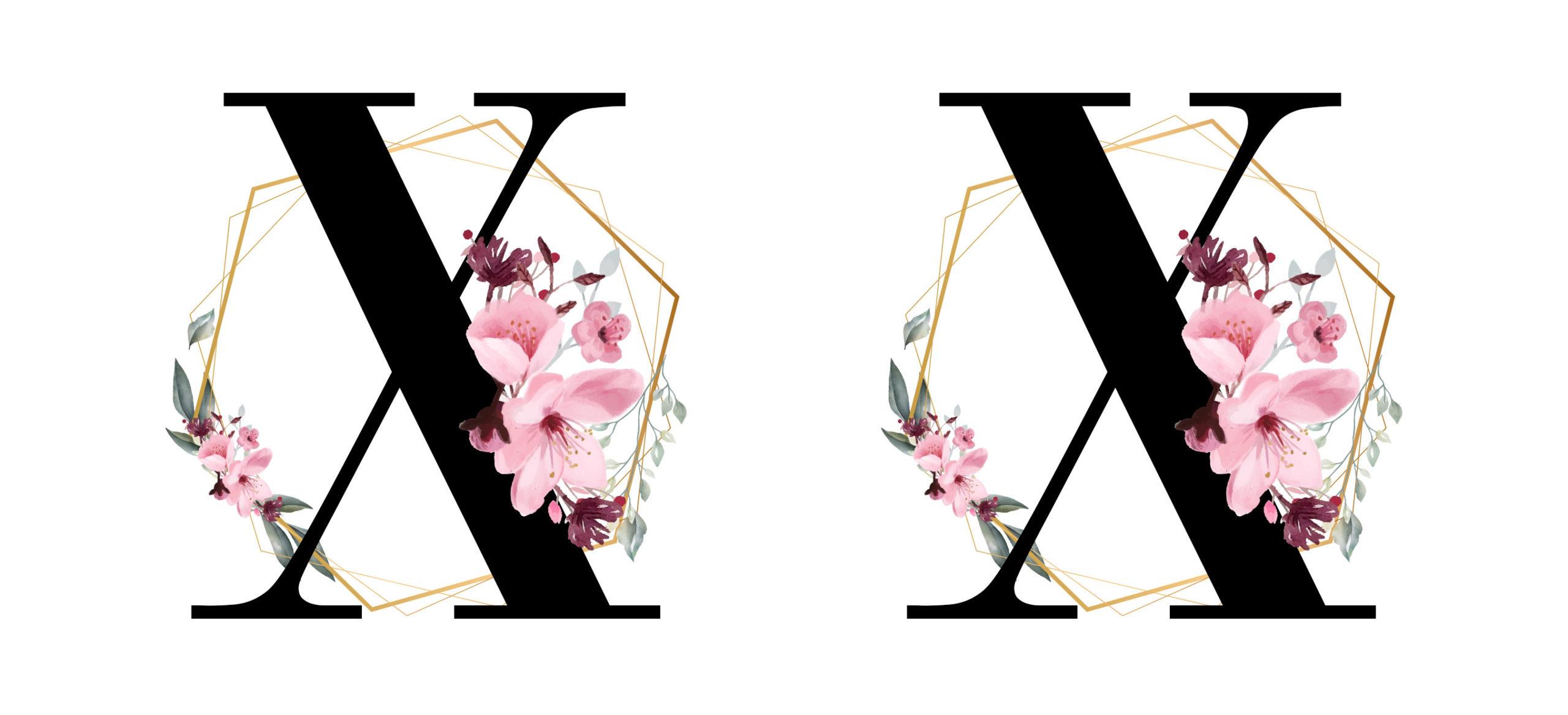 alfabeto glamour para imprimir 24