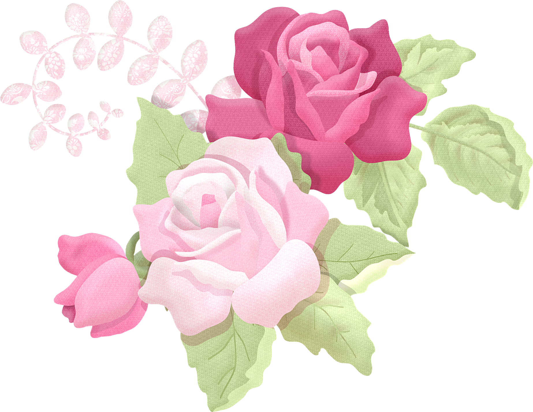 apliques jardim rosa 6