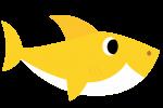 baby shark amarelo 5