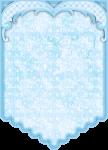 bandeirola cha de bebe azul