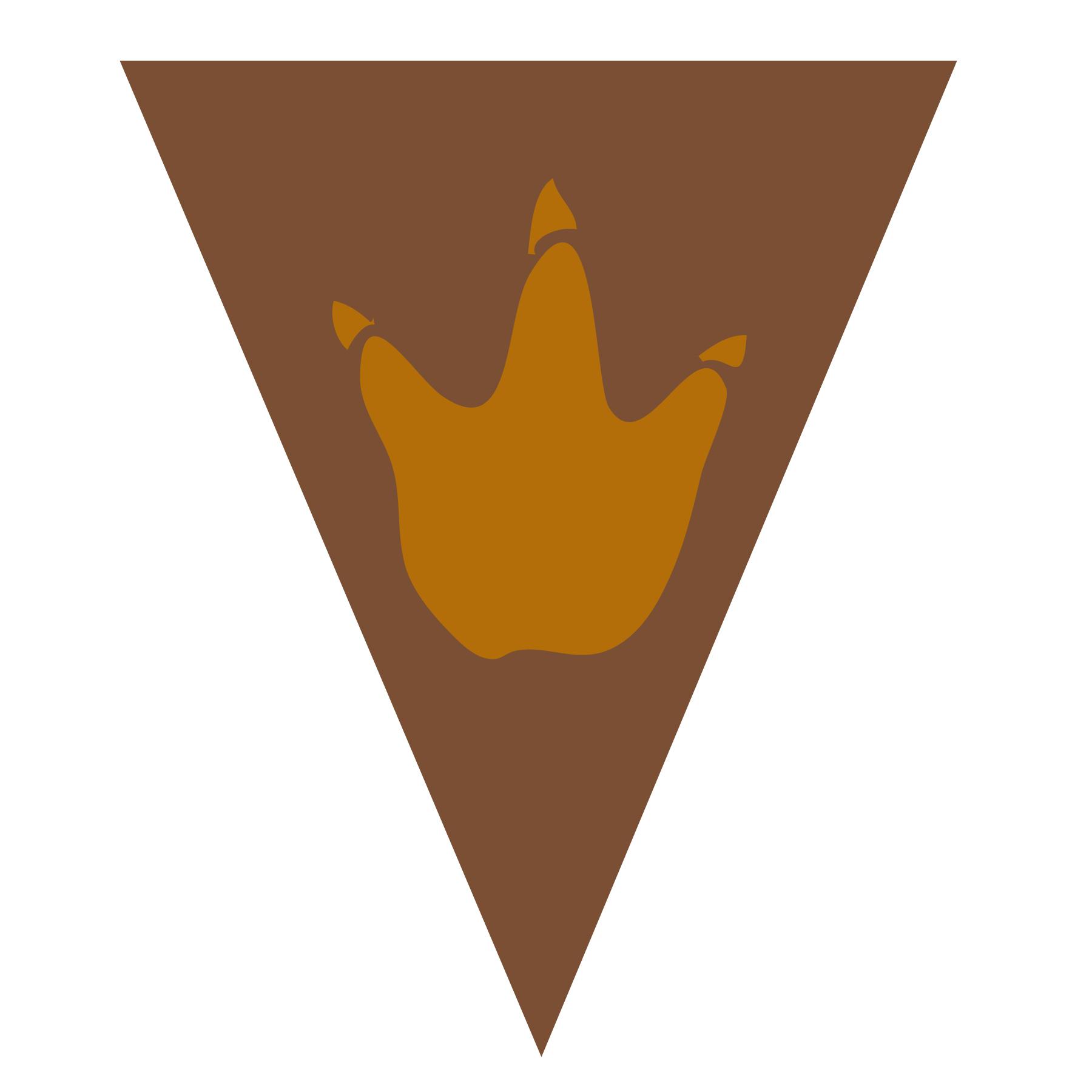 bandeirola dino 2