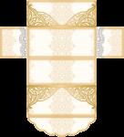 caixa 2 docinhos bodas de ouro
