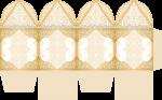 caixa abinha bodas de ouro
