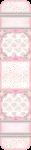 caixa acrilica cha de bebe rosa