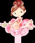 caixa bala bailarina rosa 2