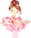 caixa bala bailarina rosa 3