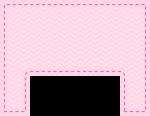 caixa cama casa de bonecas rosa 6