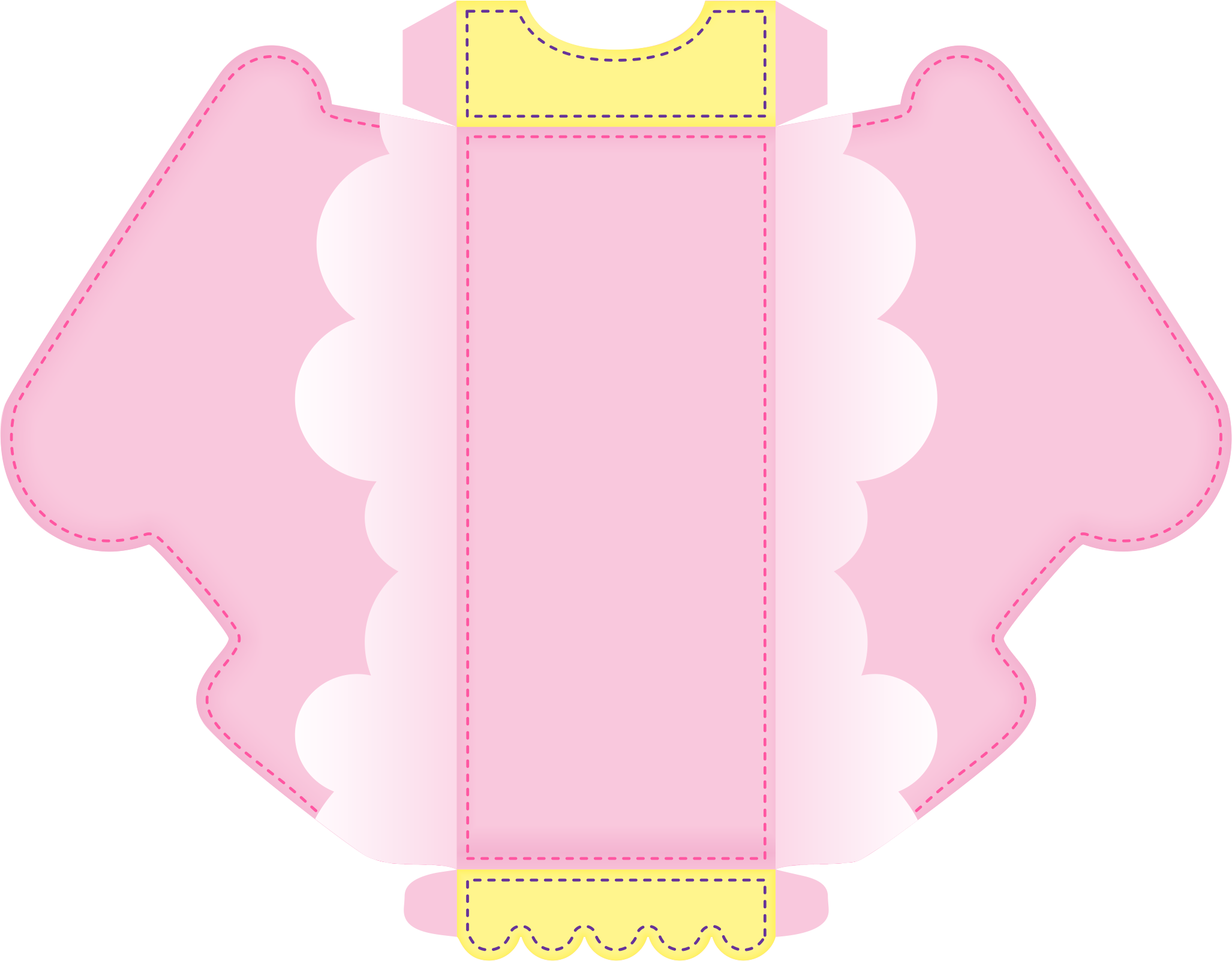 caixa canhao bailarina circo rosa 1