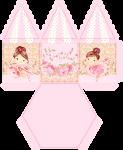 caixa carrossel bailarina rosa 1