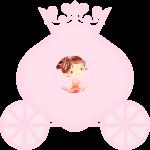 caixa carruagem bailarina rosa 2