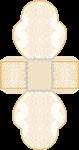 caixa coracao bodas de ouro