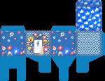 caixa cubo redes sociais