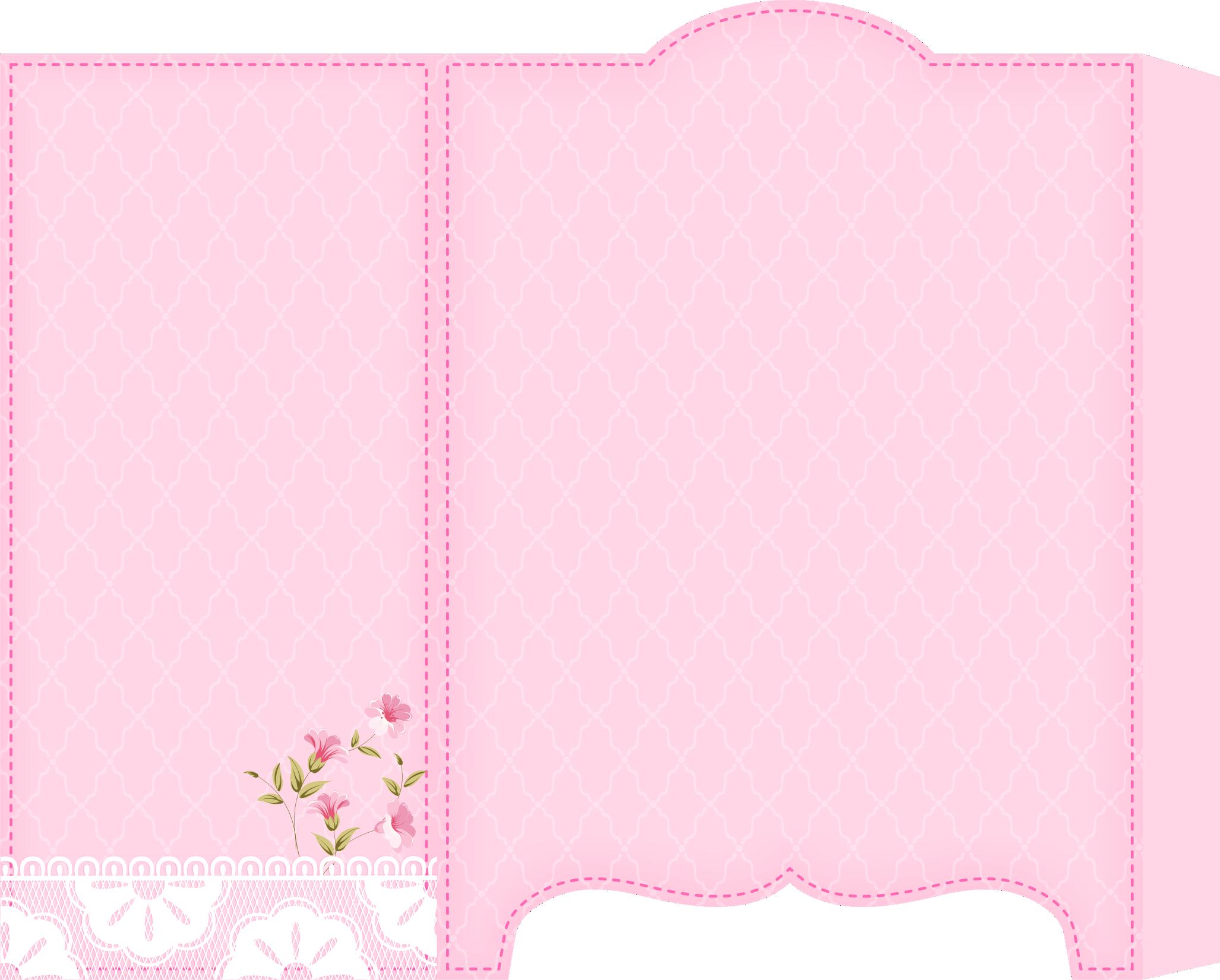 caixa guarda roupa casa de bonecas rosa 2