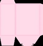 caixa guarda roupa casa de bonecas rosa 7