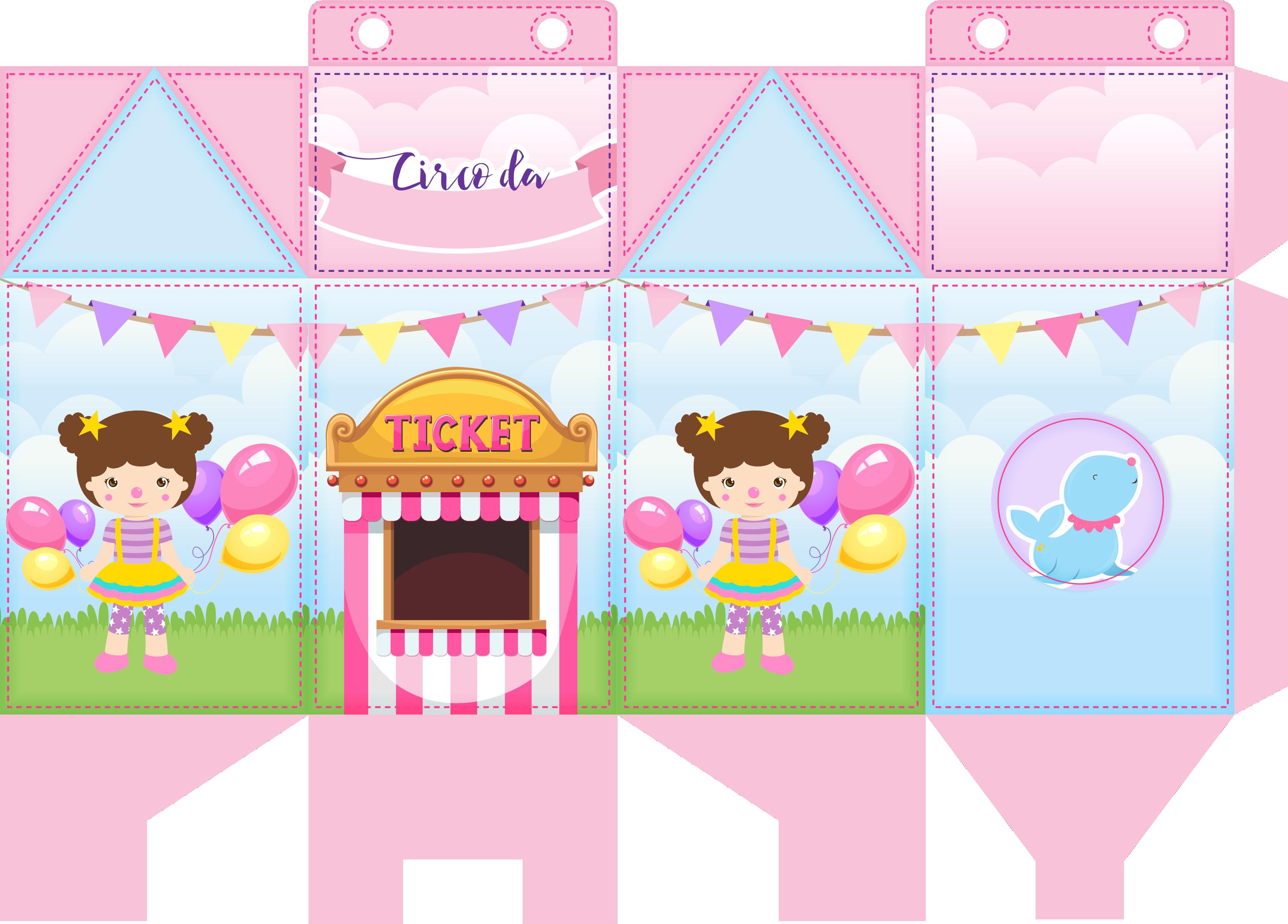 caixa milk bailarina circo rosa 1