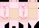 caixa milk bailarina rosa 1