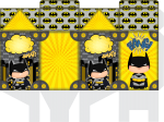 caixa milk batman cute