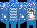caixa milk redes sociais