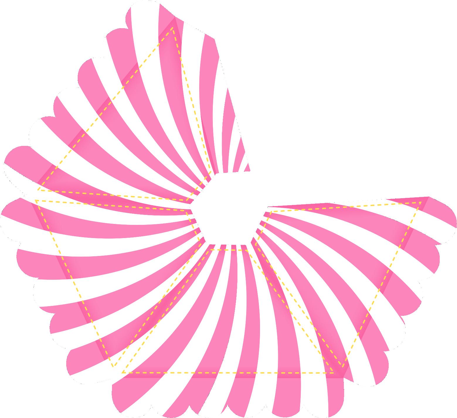 caixa piramide bailarina circo rosa 2