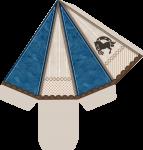 caixa piramide cavalos 1