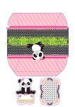 caixa travesseiro panda menina