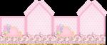 casinha galinha pintadinha rosa 1