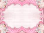 convite cha de bebe rosa