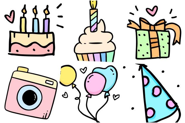 elementos festa aniversario para imprimir