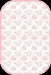 envelope cha de bebe rosa