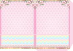 envelope galinha pintadinha rosa